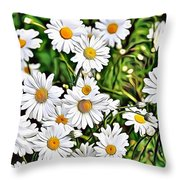 Naturalness And Flowers 57 Throw Pillow
