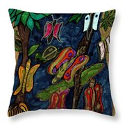Nature's Wonder Throw Pillow