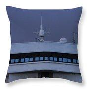 Nautical Colours Throw Pillow