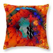 Navajo Sunset- Throw Pillow