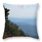 Nc Blue Ridge Parkway 9 Throw Pillow