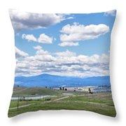 Near Princeton British Columbia Throw Pillow