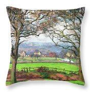 Near Sydenham Hill - Digital Remastered Edition Throw Pillow