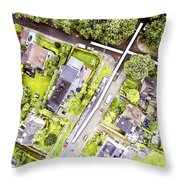 Near You Throw Pillow