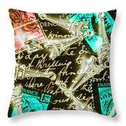 Neo Romantics Throw Pillow