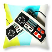 Nestalgia Throw Pillow