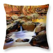 New Jersey Pines Throw Pillow