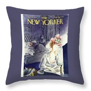 New Yorker April 20th 1946 Throw Pillow