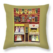 New Yorker April 27th 1946 Throw Pillow