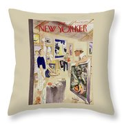 New Yorker August 11, 1951 Throw Pillow