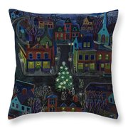 New Yorker December 15, 1951 Throw Pillow