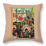 New Yorker December 8, 1951 Throw Pillow