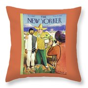 New Yorker January 11, 1947 Throw Pillow