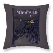 New Yorker January 18, 1947 Throw Pillow