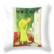 New Yorker January 26th 1946 Throw Pillow