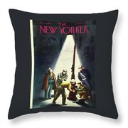New Yorker January 30th 1943 Throw Pillow
