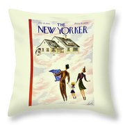 New Yorker July 20th 1946 Throw Pillow