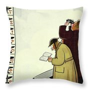 New Yorker June 13th 1942 Throw Pillow