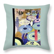 New Yorker June 7th 1947 Throw Pillow