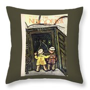 New Yorker March 22, 1947 Throw Pillow