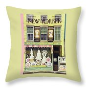 New Yorker March 2nd 1946 Throw Pillow