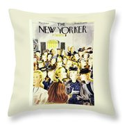 New Yorker March 8, 1947 Throw Pillow