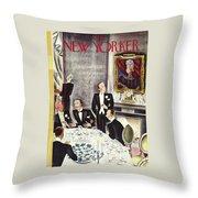 New Yorker November 2nd 1935 Throw Pillow
