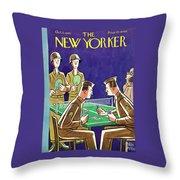 New Yorker October 2nd 1943 Throw Pillow