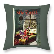 New Yorker October 30th 1943 Throw Pillow