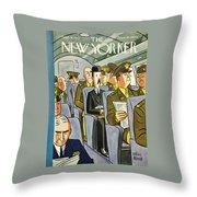 New Yorker September 18th 1943 Throw Pillow