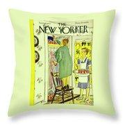 New Yorker September 25th 1943 Throw Pillow