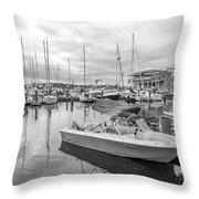 Newport Rhode Island Harbor Throw Pillow