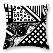 Night And Day 5 Throw Pillow