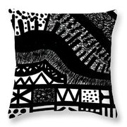 Night And Day 6 Throw Pillow