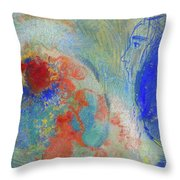 Night And Day Cardboard Throw Pillow