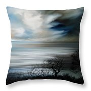 Night And Day Throw Pillow by Mark Taylor