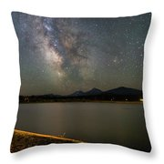 Night At Bbr Throw Pillow