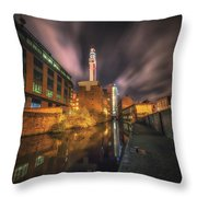 Nightly Communications Throw Pillow