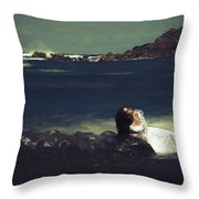 No Hope...no Love...forgotten... Throw Pillow
