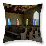 No More Sermons  Throw Pillow