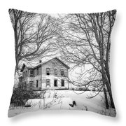 No One Home Throw Pillow by Kendall McKernon