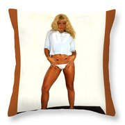 No Pockets   Throw Pillow