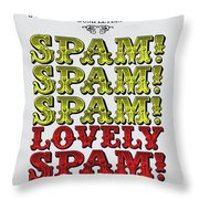 No07 My Silly Quote Poster Throw Pillow