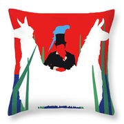 No1048 My Doctor Dolittle Minimal Movie Poster Throw Pillow