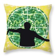 No1049 My Central Intelligence Minimal Movie Poster Throw Pillow