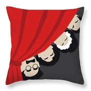 No1053 My A Night At The Opera Minimal Movie Poster Throw Pillow