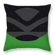 No1067 My Flight Of The Navigator Minimal Movie Poster Throw Pillow