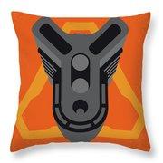 No1075 My Doom Minimal Movie Poster Throw Pillow