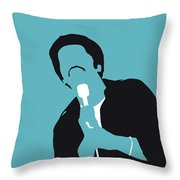 No265 My Ben E King Minimal Music Poster Throw Pillow