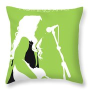 No276 My Alison Krauss Minimal Music Poster Throw Pillow